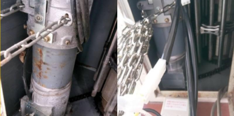 大阪狭山市でのシャッター修理