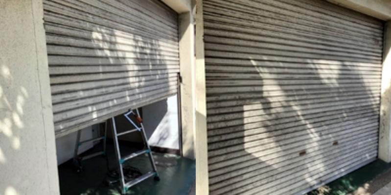 吹田市でのシャッター修理